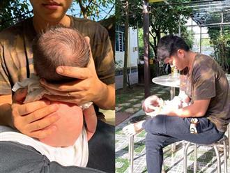 Lê Phương tiết lộ cảnh bỉm sữa của hai vợ chồng sau khi sinh thêm con gái