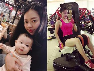 """Lên bàn đẻ nặng gần 90kg, mẹ trẻ khoe ảnh thời con gái và sau sinh khiến các mẹ """"tiếc đứt ruột"""""""