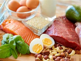 Mang thai ăn gì: Chế độ ăn giàu protein mẹ bầu cần chú ý