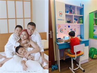 """MC Hoàng Linh than trời vì dạy con học, """"bao nhiêu yêu thương vun vén đến giờ học là sứt mẻ hết"""""""