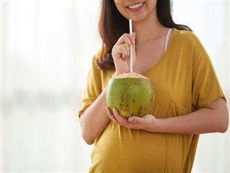 Mẹ bầu nên uống nước dừa như thế nào là tốt nhất cho thai nhi?