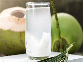 Mẹ bầu uống nước dừa lợi hơn thuốc bổ nhưng uống sai thời điểm cũng gặp không ít tác hại khôn lường