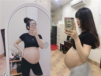Mẹ bầu xinh như hot girl tiết lộ 2 thứ đồ ăn mỗi ngày để con tăng cân đều đặn mà mẹ vẫn thon gọn