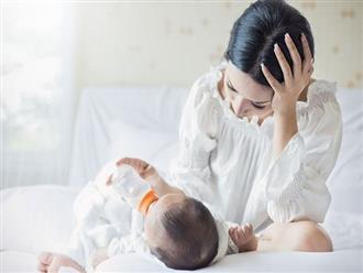 Nghiên cứu tiết lộ cha mẹ không được ngủ đủ trong suốt 6 năm liền sau khi sinh con