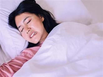 Nghiến răng khi ngủ là dấu hiệu của bệnh gì?