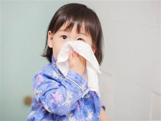 Những điều cần biết khi trẻ sơ sinh bị ho sổ mũi