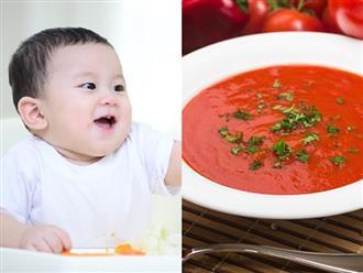Những loại súp rau tốt cho bé, tăng miễn dịch, giảm táo bón
