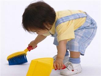 """Những lợi ích tuyệt vời khi trẻ chăm chỉ làm việc nhà, bố mẹ đừng nuông chiều mà hãy tích cực """"sai vặt"""""""