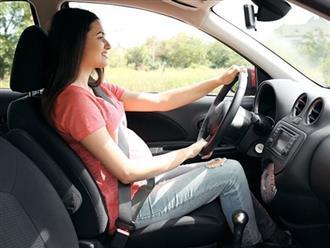Những tối kỵ với bà bầu khi lái xe ô tô