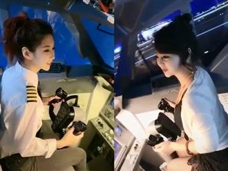 Nữ phi công nóng bỏng khoe đường cong gợi cảm và gương mặt siêu hack tuổi đốn tim triệu người