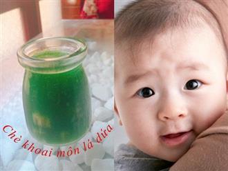 Công thức làm 7 loại sữa hạt, sinh tố cho bé dưới 1 tuổi ăn dặm