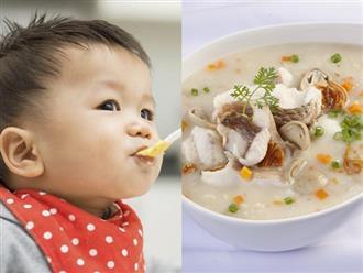 Mách mẹ các món cháo bổ dưỡng giúp trẻ tăng cân cực nhanh