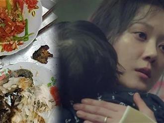 Quần quật nấu nướng cho nhà chồng, quay ra còn mỗi bộ xương cá, may đúng lúc chồng về nhà