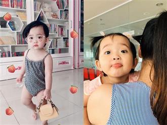 Sinh non 6 tuần, có ai ngờ con gái Khánh Thi giờ bụ bẫm và xinh thế này!