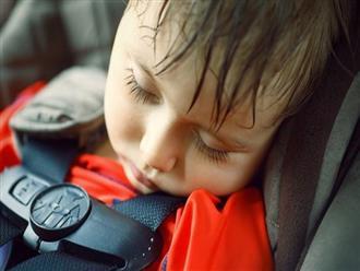 Sốc nhiệt là nguyên nhân hàng đầu khiến trẻ tử vong khi bị để quên trên ô tô