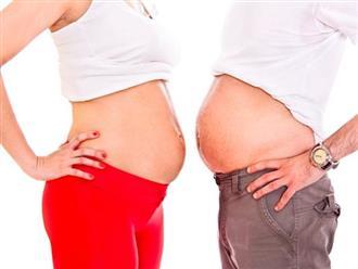 Thực hư việc chồng ốm nghén thay vợ khiến mẹ bầu không khỏi bất ngờ