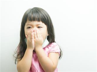 Thực phẩm cấm kỵ khi trẻ bị ho