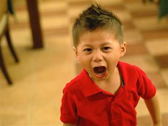 Trẻ bị bố mẹ kìm nén cơn giận, về sau dễ có tính cách bất thường