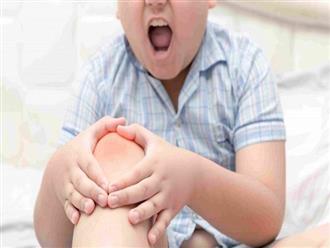 Trẻ đau chân khi tăng trưởng, do đâu?