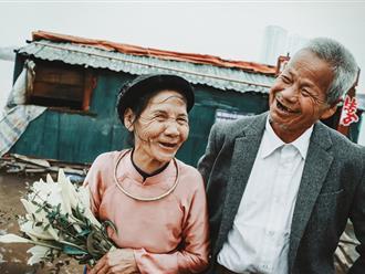 Câu chuyện của đôi vợ chồng hạnh phúc tuổi xế chiều khiến nhiều người ấm lòng