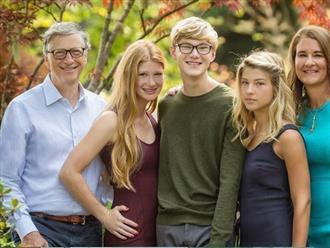 """Tỷ phú Bill Gates dạy con: """"Chọn bạn đời còn quan trọng hơn chọn nghề"""""""