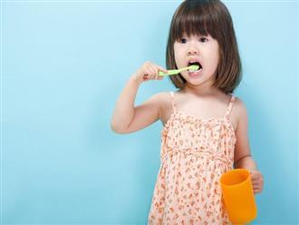 Vệ sinh răng miệng đúng cách cho trẻ