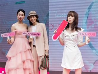 Hải Triều, BB Trần tay trong tay xuất hiện tại sự kiện