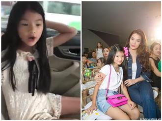 Con gái Trương Ngọc Ánh trổ tài 'bắn' tiếng Anh như gió khi mới 9 tuổi