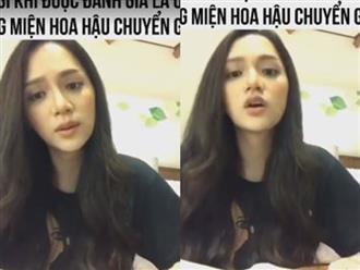 Hương Giang nói gì khi được đánh giá là ứng viên sáng giá cho vương miện Hoa hậu Chuyển giới năm 2018?