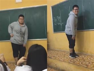 """Chàng béo đáng yêu cover """"khớp từng động tác"""" điệu nhảy Talk to me của Chi Pu"""