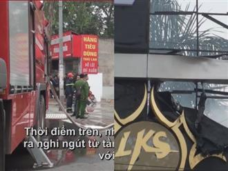 Hà Nội: Cháy lớn tại quán Karaoke gần khu đô thị Linh Đàm