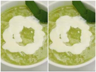 Cách nấu chè cốm nước cốt dừa đơn giản lạ miệng chỉ mất 15 phút