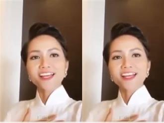 Hoa hậu H'Hen Niê trổ tài 'bắn' tiếng Anh cực đỉnh