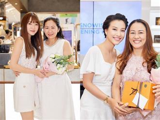 MC Hoàng Oanh cùng mẹ đi shopping nhân dịp Ngày của mẹ