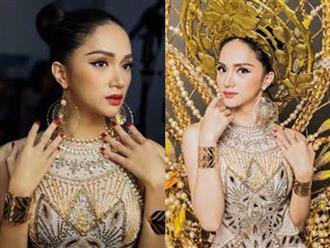 Hương Giang Idol khoe sắc vóc nổi bật tại cuộc thi Hoa hậu chuyển giới
