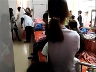 Xôn xao clip hy hữu: Vừa đẻ xong rước dâu ngay tại bệnh viện