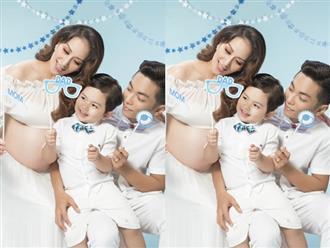 Phan Hiển hôn bụng bầu hơn 8 tháng của Khánh Thi