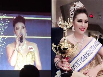 Bật cười với phần thi ứng xử giúp Phi Thanh Vân đăng quang Hoa hậu Doanh nhân Thế giới người Việt 2017