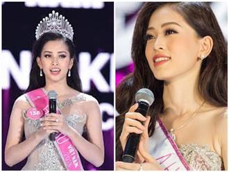 Nhìn lại phần thi ứng xử trái ngược của Tân Hoa hậu và Á hậu HHVN 2018