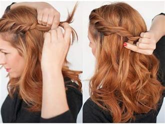 Mẹo nhỏ tết tóc chuẩn sao Hàn