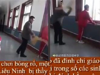 Thầy giáo bị đình chỉ công tác vì dùng chổi đánh 13 học sinh trốn học