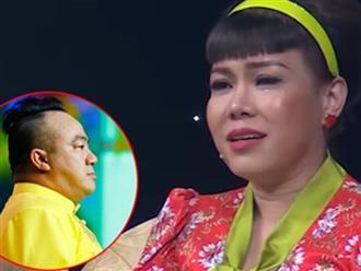 Việt Hương nhòe nước mắt kể về đêm mẹ Hiếu Hiền mất