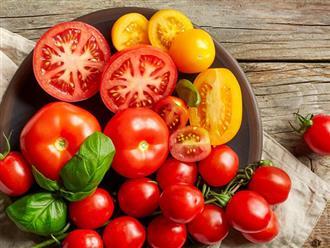 Những lưu ý đặc biệt khi ăn cà chua mà bạn nhất định phải biết