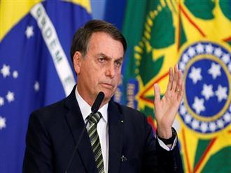 Nóng: Tổng thống Brazil lên tiếng phủ nhận việc dương tính với virus corona