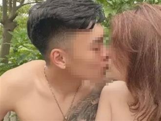 Lộ 'ảnh nóng' của một cầu thủ tuyển Việt Nam với bạn gái giữa lúc đang cách ly khiến cộng đồng 'hừng hực'