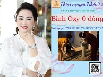 Giữa lúc nguy khốn, bà Nguyễn Phương Hằng có hành động đẹp xóa tan 'nỗi sợ hết bình oxy' cho một nhóm thiện nguyện