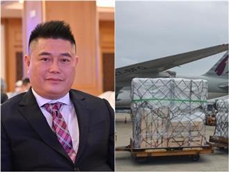 Bầu Thụy tài trợ 100 tỷ mua thuốc trị COVID-19, hơn 8.000 liều đã hạ cánh tại Tân Sơn Nhất vào trưa nay
