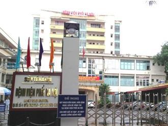 Bệnh viện Phổi Hà Nội dừng tiếp nhận bệnh nhân khi phát hiện 9 ca khẳng định dương tính với Covid-19