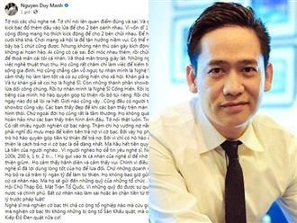 Ca sĩ Duy Mạnh thừa nhận showbiz có người xấu, có nghệ sĩ 'nghiện cờ bạc', mưu mẹo kêu gọi từ thiện để 'trả nợ'
