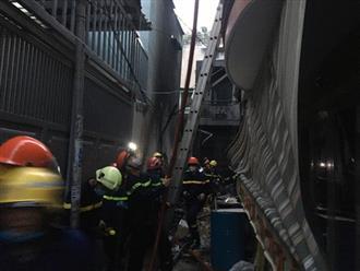 Cháy lớn ở quận 11, 7 người tử vong